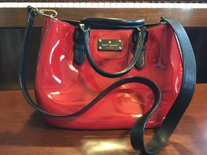 Kate Spade Patent Leather Tote Bag for Sale in Ruston, WA
