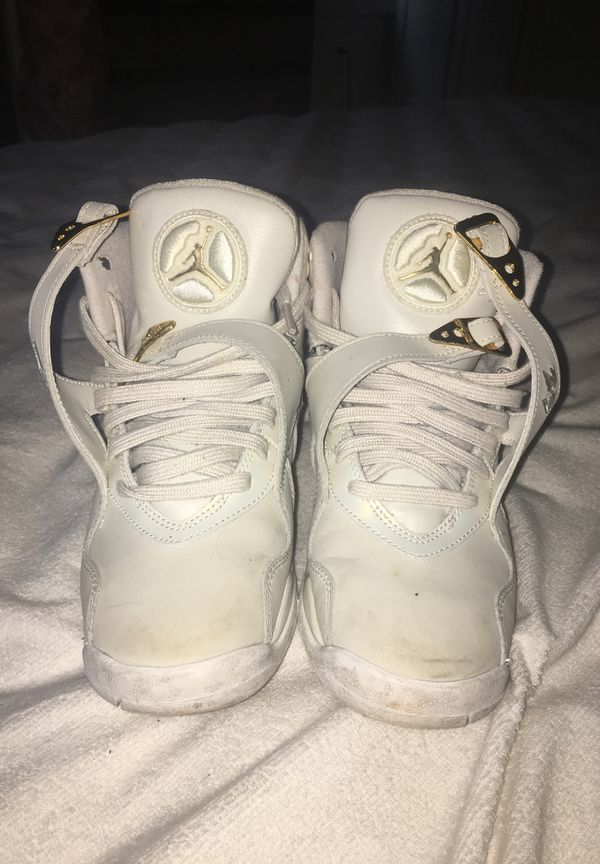 6816b46570c Gold and White OVO Jordan 8s for Sale in Snellville, GA - OfferUp