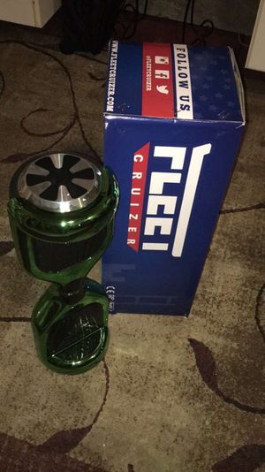 Fleetcruizer Hoverboard Green Chrome for Sale in San Francisco, CA
