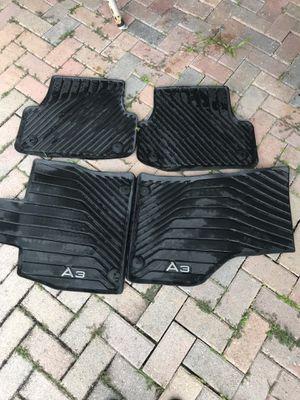 Audi A3 rubber car mats for Sale in Miramar, FL