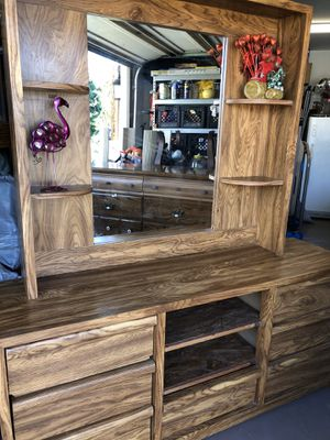 Vanity/dresser with 7 drawers and shelves for Sale in San Diego, CA