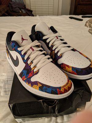 "Nike Jordan 1 low""Nothing but net"" men's 11 for Sale in Charlotte, NC"