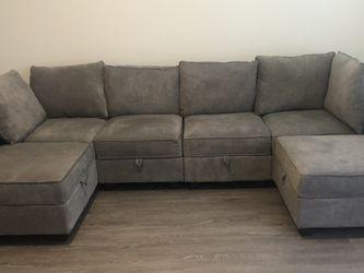NEW HONBAY Reversible Mod Sectional Sofa for Sale in Smyrna,  GA