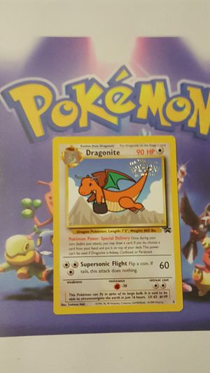 👣Pokemon cards💥WotC Black Star Promo💥DRAGONITE #3💥👣 for Sale in Falls Church, VA