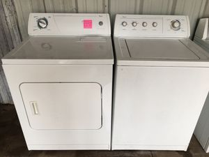 Very nice set whirlpool washer and electric dryer for Sale in Tulsa, OK