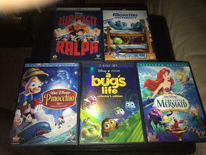 Disney DVD bundle for Sale in Riverside, CA