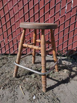 Vintage wooden stool for Sale in Oakland, CA