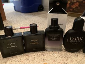 Chanel, givenchy, polo, Versace cologne for Sale in Manassas, VA