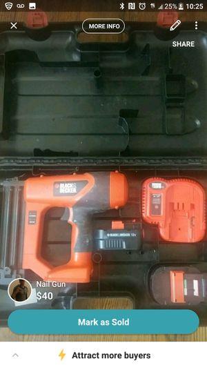 Black & Decker Nail Gun for Sale in Chicago, IL