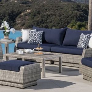 8 Piece Patio Sofa Set From Castelli for Sale in Los Angeles, CA