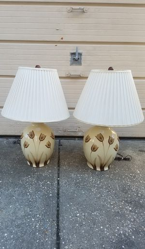 2 large lamps for Sale in Brooklyn, NY
