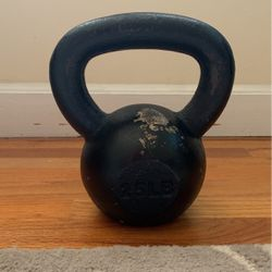 25 Lb Kettlebell for Sale in Cary,  NC