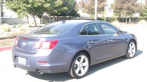 2013 Chevy Malibu LTZ low miles new smog, title in hand leather sunroof backup camera Pioneer system Bluetooth, AC heater perfect, drives excellent, for Sale in Vallejo, CA