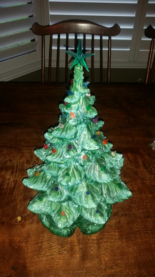 Vintage Ceramic Christmas Tree For Sale In Jupiter Fl Offerup