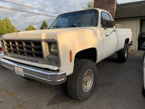 1980 Chevy K20 for Sale in Renton, WA