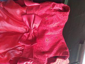 Red flower girl dress for Sale in Philadelphia, PA