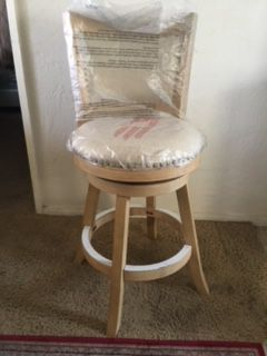 """24"""" swivel chair beige new just one for Sale in La Mesa, CA"""