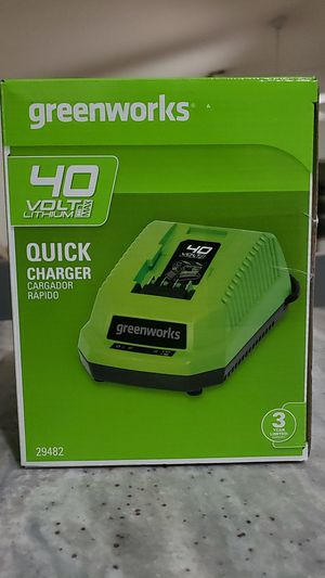 Greenworks quick charger for Sale in Phoenix, AZ