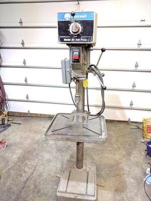 """Delta Rockwell 20"""" Machinist Drill Press for Sale in Tacoma, WA"""