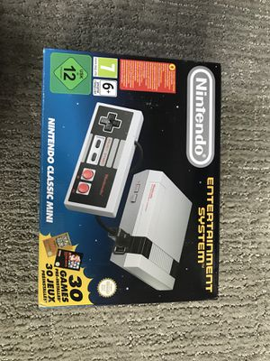 NES NINTENDO CLASSIC WITH GAMES NEW VERSION for Sale in Denver, CO