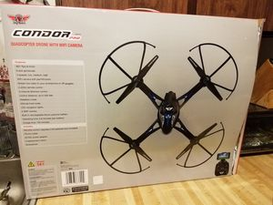 CONDOR pro quadcopter drone with wifi camera for Sale in Portland, OR