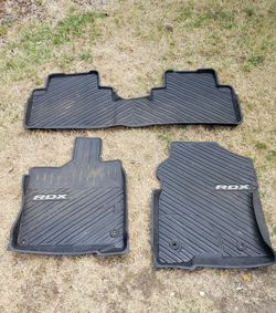 Acura RDX 2018 Genuine OEM Rubber Floor Mats for Sale in Kirkland,  WA