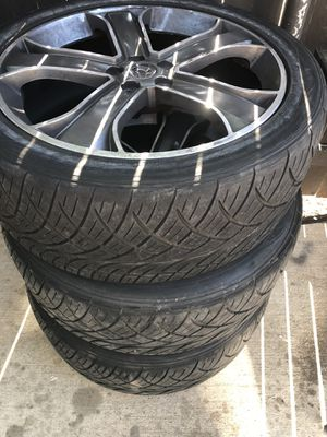 Nitto 22 tires for Sale in Arlington, TX
