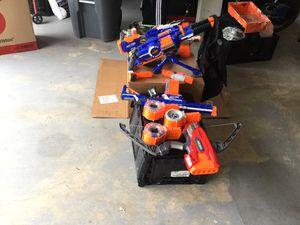 Nerf Gun Lot for Sale in Ashburn, VA