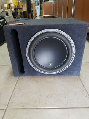 EXCELLENT CONDITION!! JL AUDIO CAR SPEAKER 12W6V-D2 for Sale in Rialto, CA