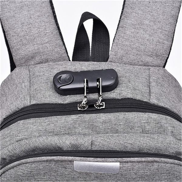 Anti Theft Smart Backpack with USB Charging Port