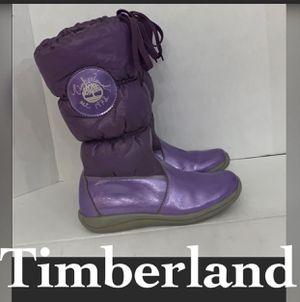 Authentic Timberland leather waterproof winter boots girls sz 5.5 $25 firm McAllen for Sale in McAllen, TX
