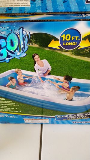 "New pool in box /nueva alberca en caja 10'x6'x22"" for Sale in Perris, CA"