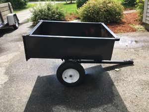Dump trailer for lawn tractor for Sale in Tyngsborough, MA