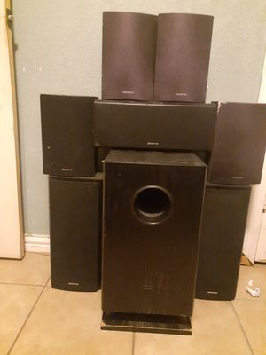 Onkyo home theater speaker system for Sale in Garland, TX