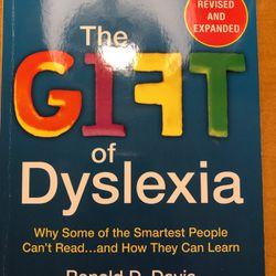 The Gift Of Dyslexia for Sale in San Mateo,  CA