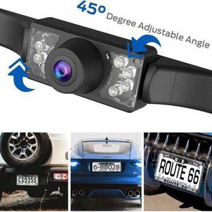 Backup Camera, Car Rear View Reversing Backup Camera Automotive with IP68 Waterproof Rating, 170° Perfect View Angle 7 Night Vision LED Lights, Univer for Sale in Pomona, CA