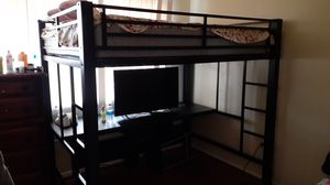 Bunk bed with office for Sale in MONTGOMRY VLG, MD