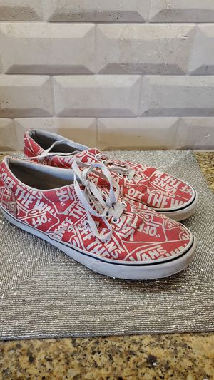 VANS Monogram Sneakers - Men's Size 10 for Sale in Pearland, TX