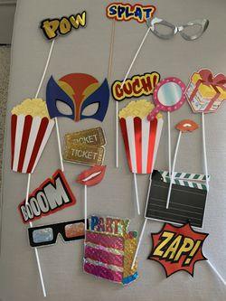 Photo booth props for Sale in Bellflower,  CA