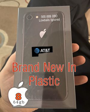 Apple Iphone 8 Space Grey 64gb-Deadstock AT&T for Sale in Federal Way, WA