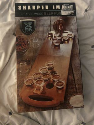 FREE Foldable mini beer pong game for Sale in Euless, TX