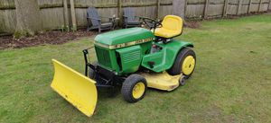 John Deere refurbished 216 with accessories and 214 parts tractor for Sale in Lake Forest, IL
