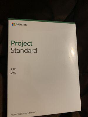 Microsoft Project Standard 2019 for Sale in Fredericksburg, VA