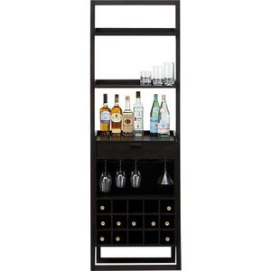 Coffee Bar / Wine Rack Leaning Shelf | Crate & Barrel for Sale in Stratford, CT