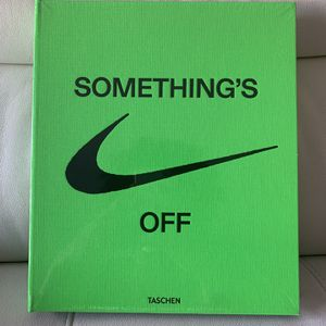 """Vigil Abloh X Nike ICONS """"The ten"""" Something's Off White Book for Sale in Boca Raton, FL"""