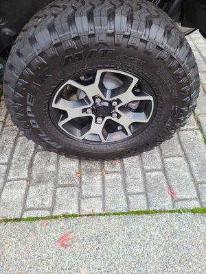 Jeep rubicon wheels for Sale in Bonney Lake, WA