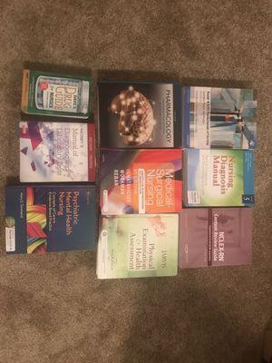 NURSING textbooks for Sale in Lynnwood, WA