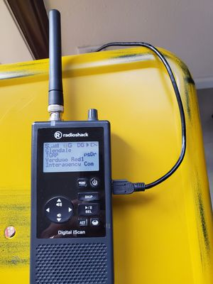 Digital radio scanner for police, fire & others. See details. for Sale in Los Angeles, CA