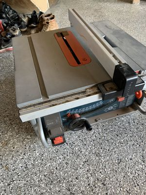 Bosch table saw for Sale in Anaheim, CA