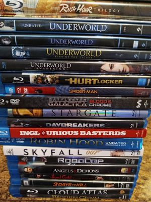 19 Blu-Rays for 25.oo for Sale in Garland, TX